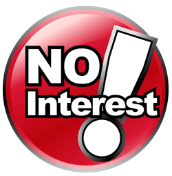 FINANCING | No Interest